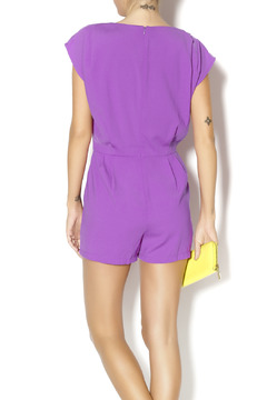 Byrds Purple Romper - Alternate List Image