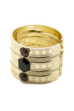 Shoptiques Product: Statement Gold Cuff