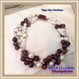 Shoptiques Product: Brown Red Necklace