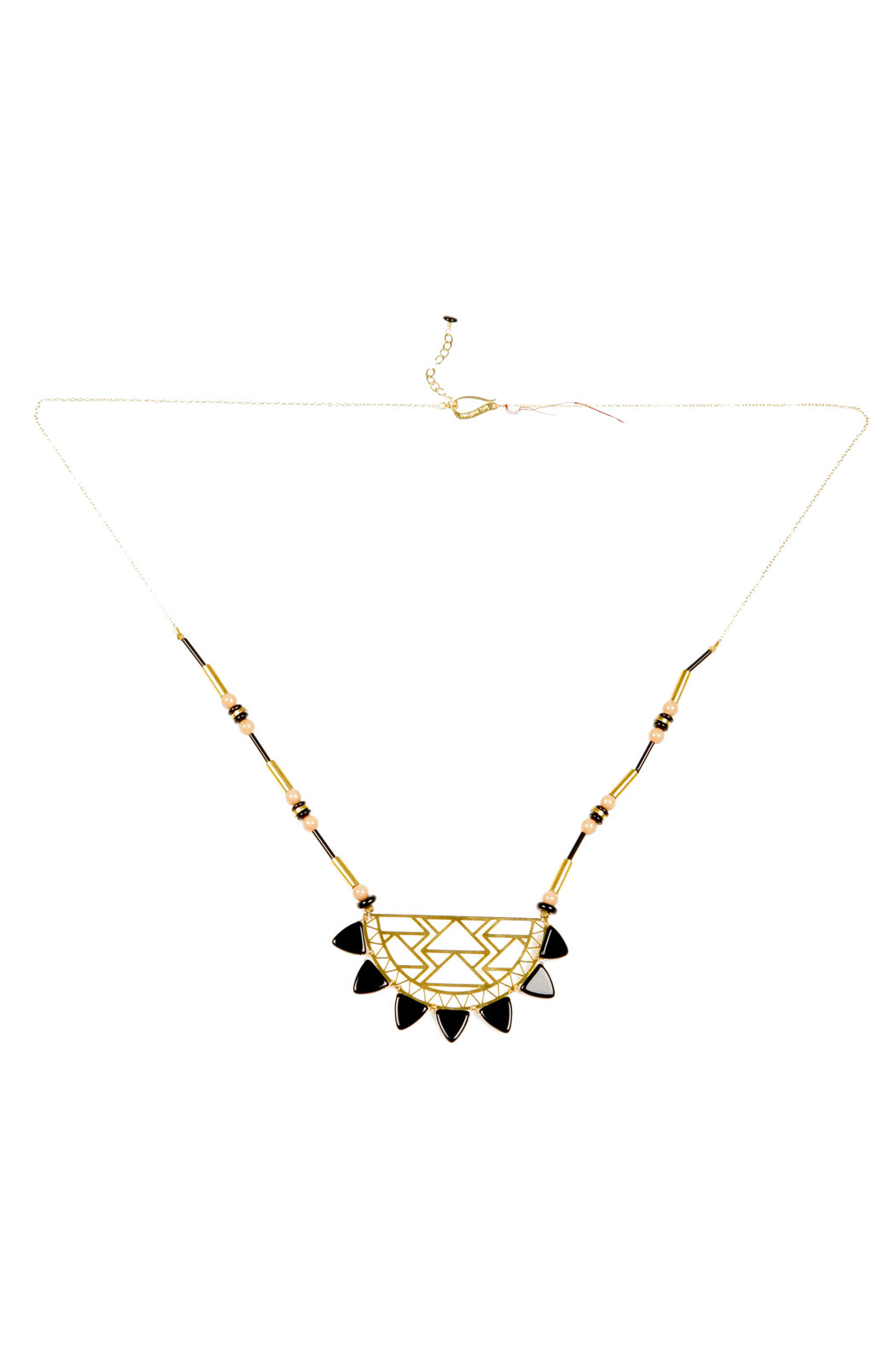 Kris Nations Urban Beaded Necklace - Front Full Image