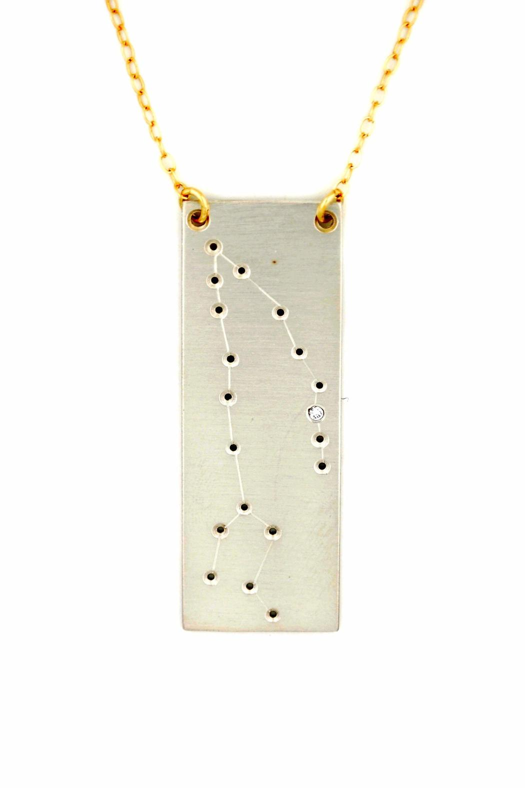 Curiosities Constellation Necklace Pisces - Main Image
