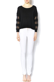 Shoptiques Product: Breezy Sleeve Knit - Front full body