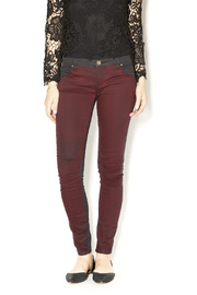 BlankNYC Black Cherry Skinnies - Product Mini Image