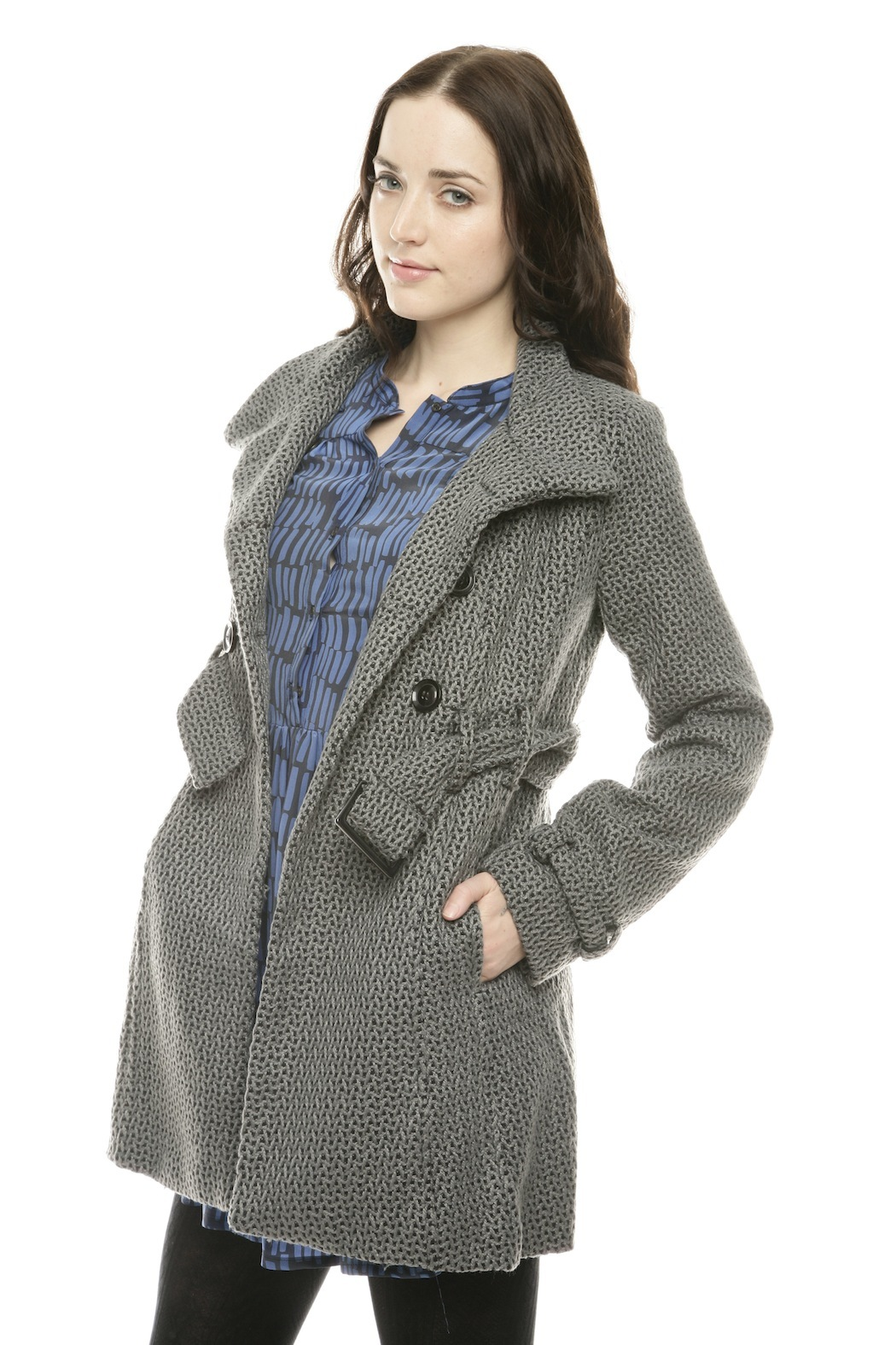 Voice Twill Coat - Side Cropped Image