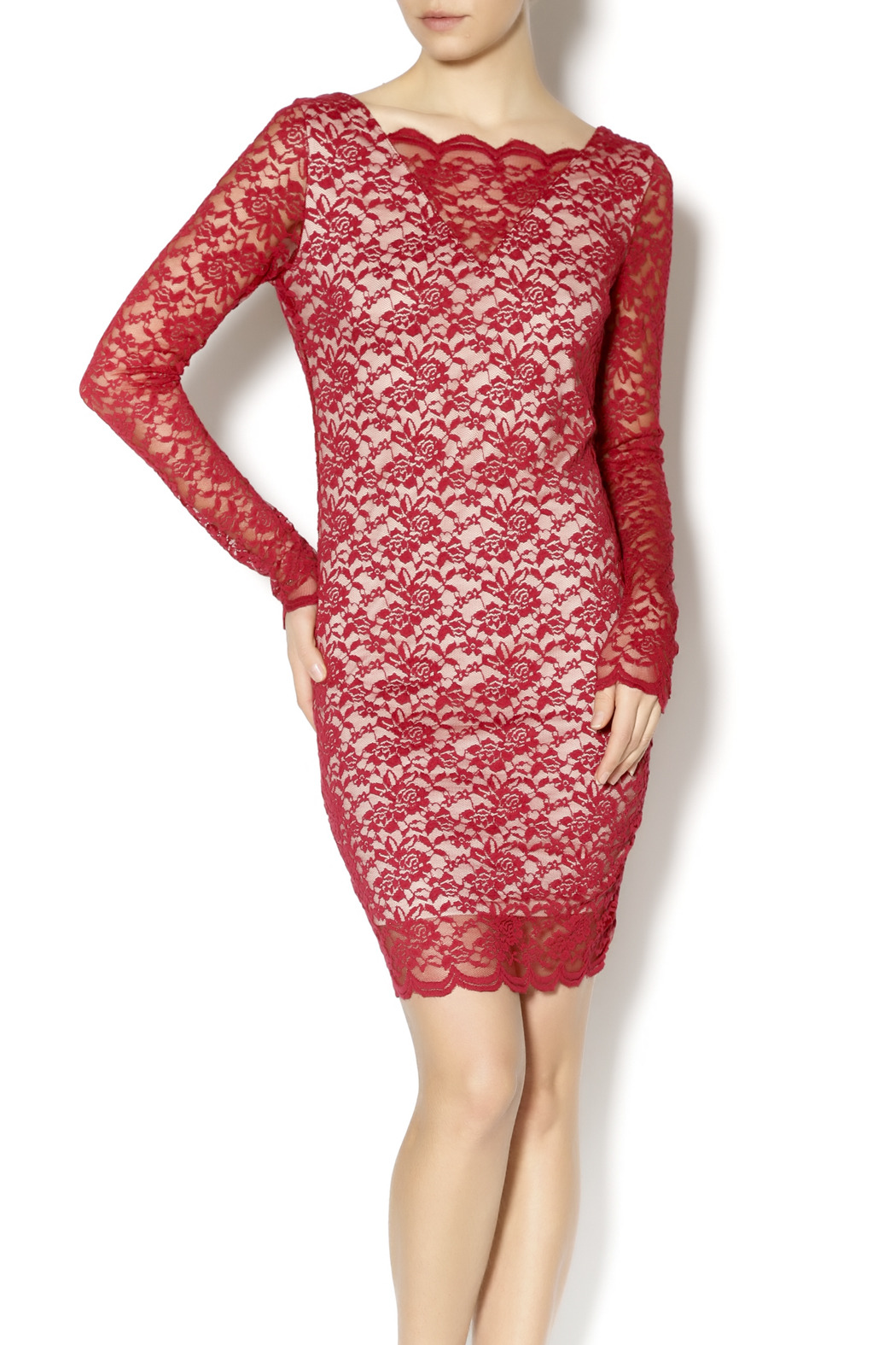 Double Zero Shiraz Lace Dress - Main Image