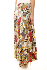 Isle Feather Maxi Skirt - Side cropped