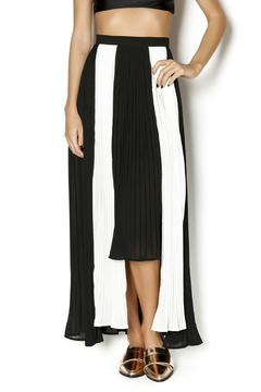 Moon Collection Pleated Maxi Skirt - Product List Image