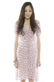 Shoptiques Product: Floral-Print Slip Dress