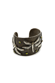 Dragonfly Cuff Bracelet - Front cropped