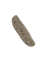 Shoptiques Product: Silver Phalanx Ring - Front cropped