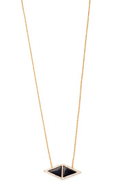 Tselaine Double Triangle Necklace - Front cropped