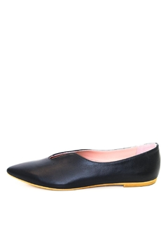 Shoptiques Product: Black Pointed Ballerina
