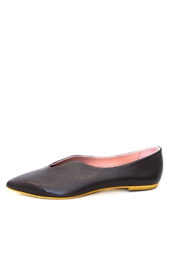 Shoptiques Product: Brown Pointed Ballerina