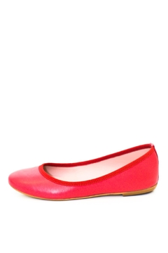993 Internal Wedge Leather Ballerina - Product List Image