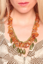 Shoptiques Product: Semi-Precious Forest Necklace - Other