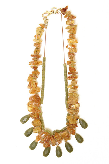 Shoptiques Product: Semi-Precious Forest Necklace - main