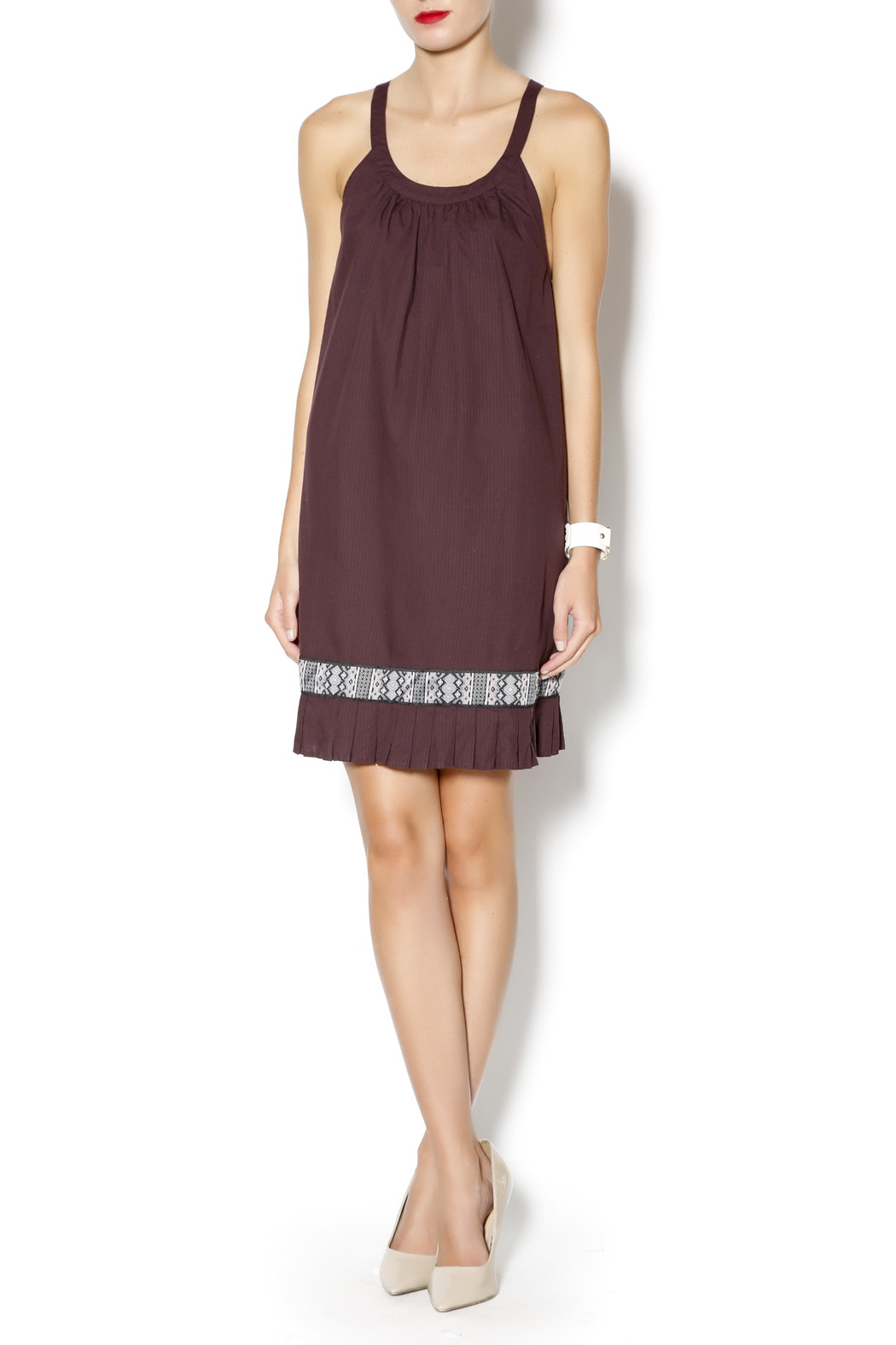 Free People Native Sun Shift Dress - Front Full Image