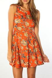MinkPink Inked Skater Dress - Product Mini Image