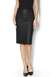 Gracia Quilted Pencil Skirt - Product Mini Image