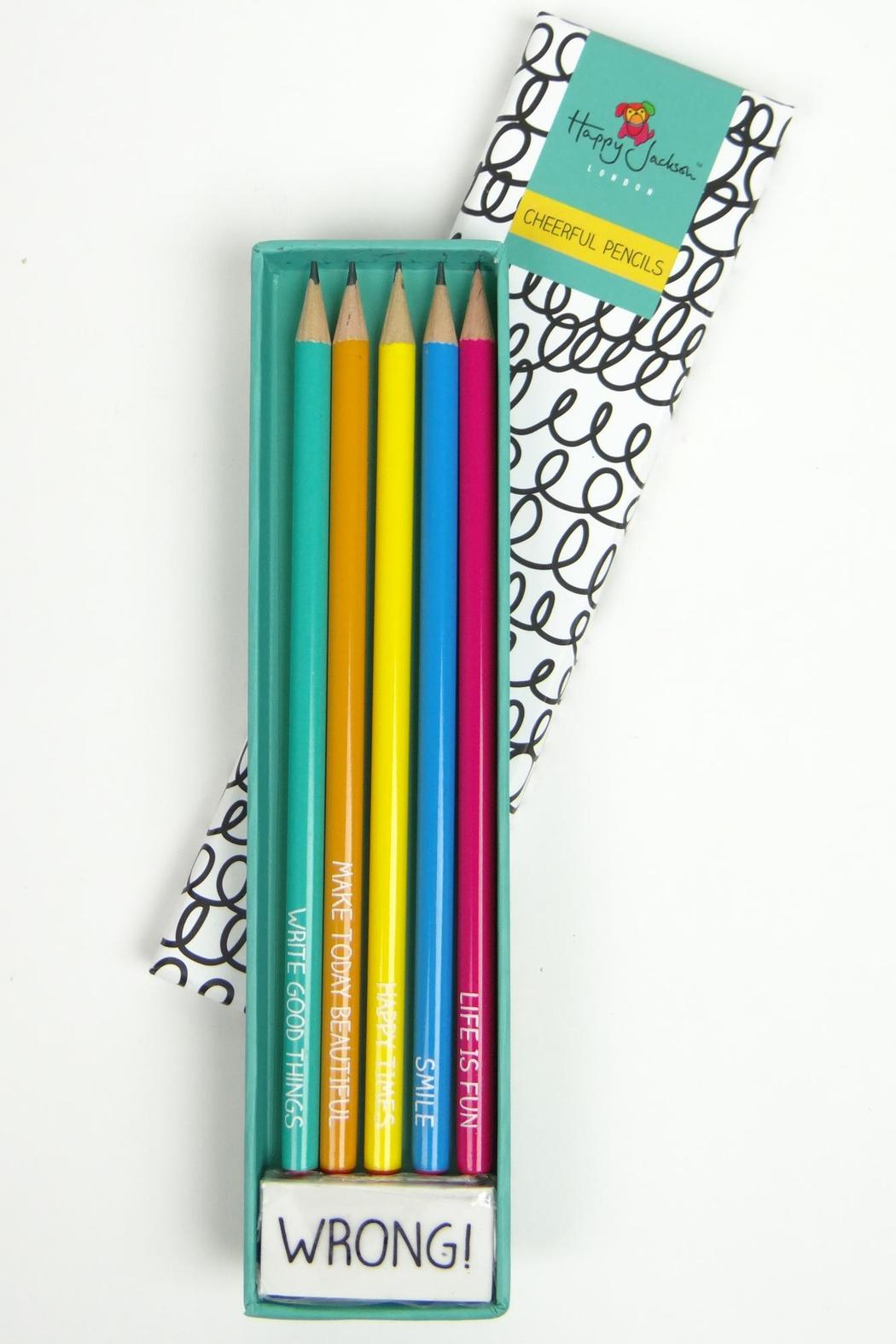 Happy Jackson  Cheerful Pencils - Main Image