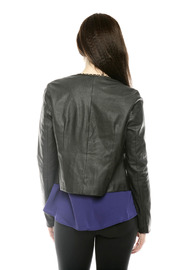 Shoptiques Product: Chain Trim Jacket - Back cropped