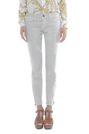 Current/Elliott The Zip Stiletto Jeans - Front cropped