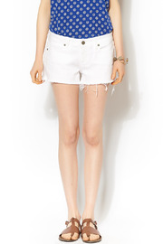Paige Catalina Cut Offs - Front cropped