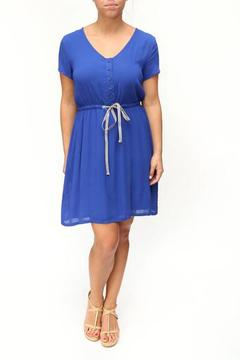 Tulle Blue Drawstring Dress - Product List Image