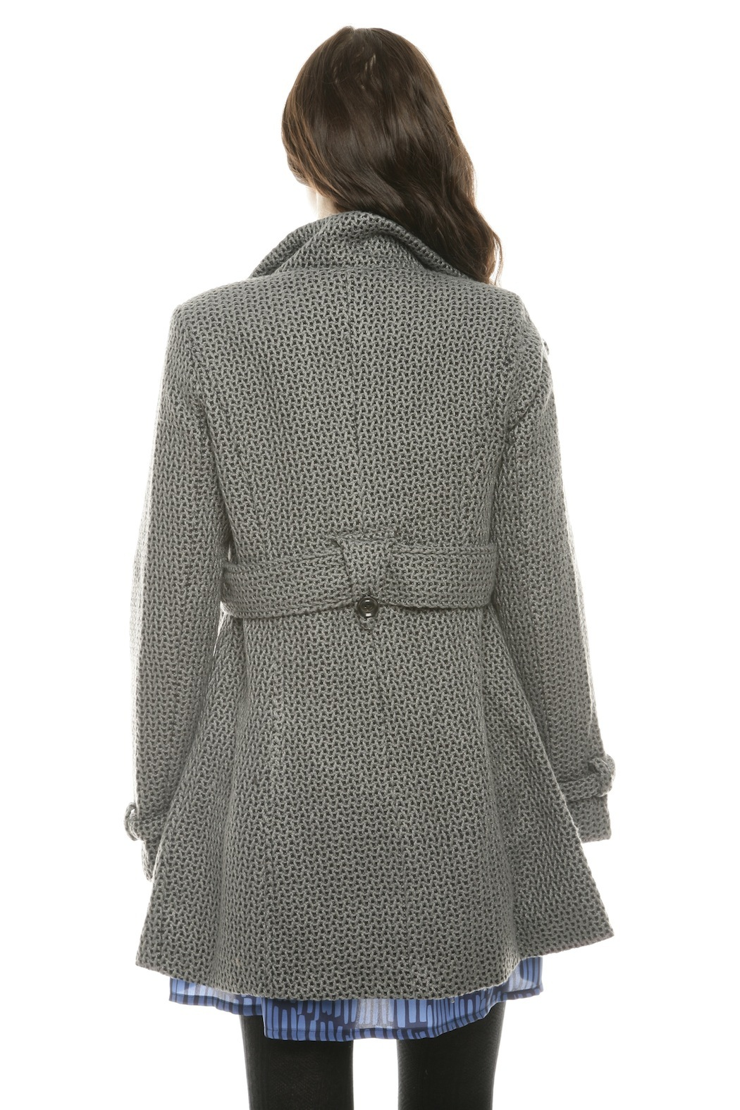 Voice Twill Coat - Back Cropped Image