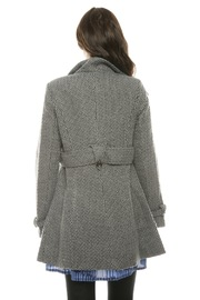 Voice Twill Coat - Back cropped