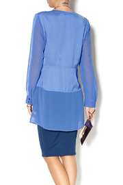 Shoptiques Product: Cobalt Blue Tunic - Back cropped