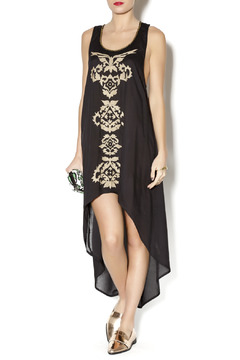 Shoptiques Product: Embroidered HiLo Dress