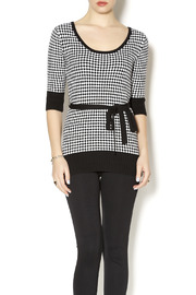 Effie's Heart Veronica Houndstooth Sweater - Product Mini Image