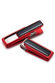 M-Clip Red Anodized - Product Mini Image