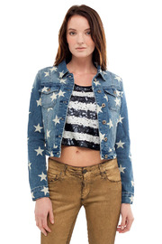 Shoptiques Product: Star Denim Jacket