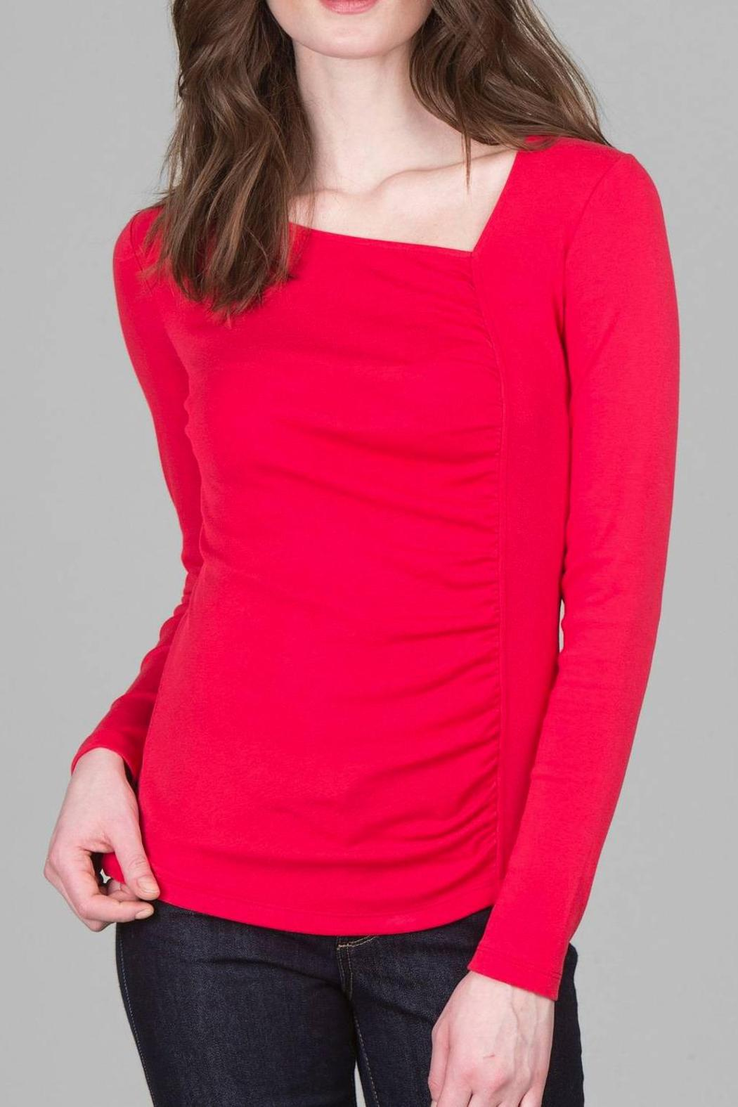 Lilla P Asymmetric Neck Top from California by DRESSERS ...