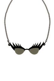 Shoptiques Product: Eyelash Sunglasses Necklace