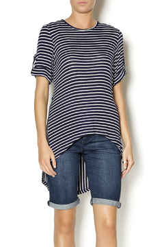 Mesmerize Striped High Low Top - Product List Image