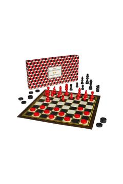 Wild & Wolf Chess & Checkers Set - Product List Image