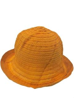 Grevi Marigold Mesh Hat - Alternate List Image