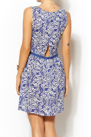 LA Made Cluster Floral Dress - Front full body