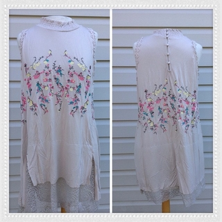 Shoptiques Product: Embroidery Tank