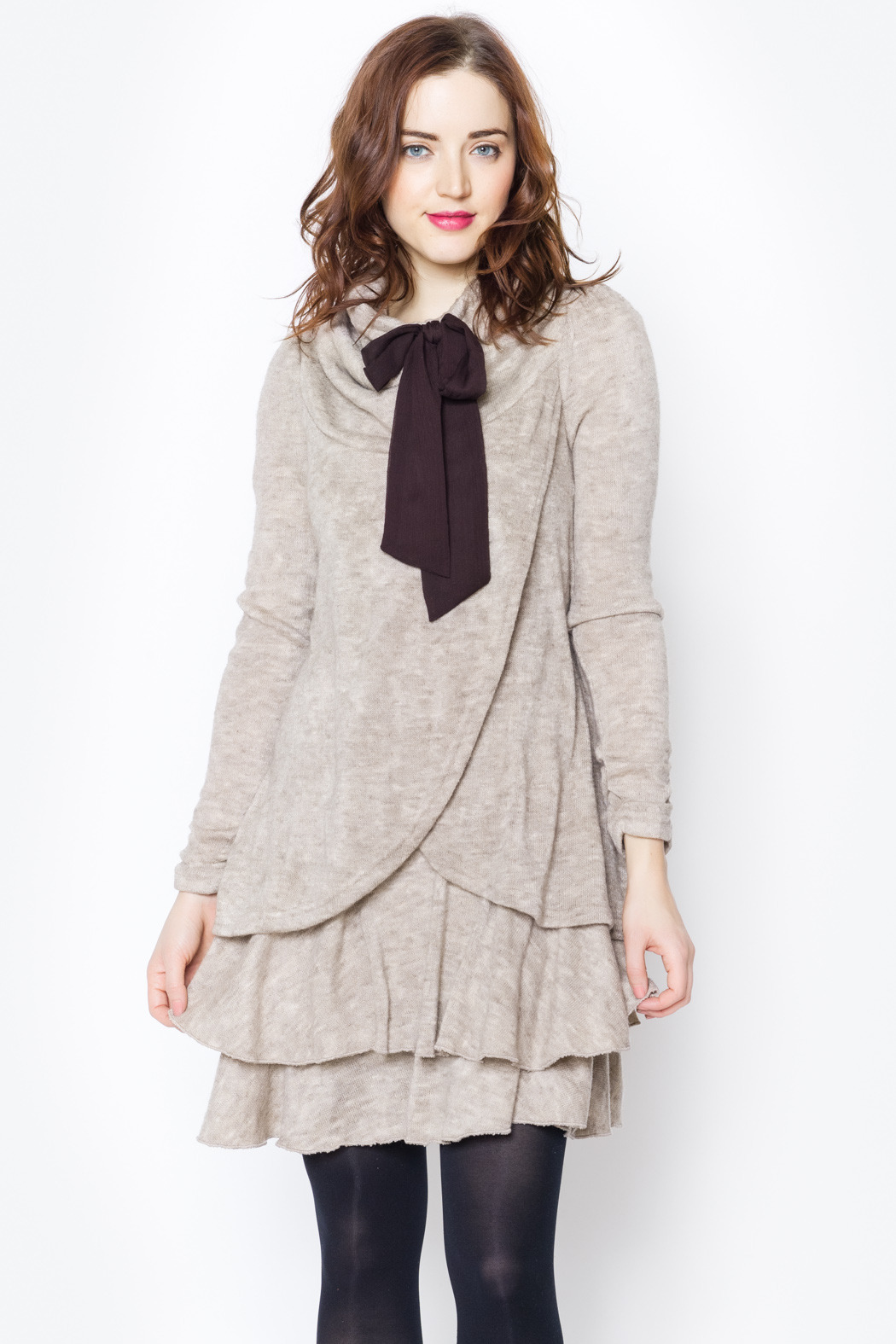 Ryu Cowl Neck Sweater Dress from North Shore by Addicted — Shoptiques
