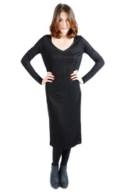 Shoptiques Product: Long Sleeve Jersey Dress