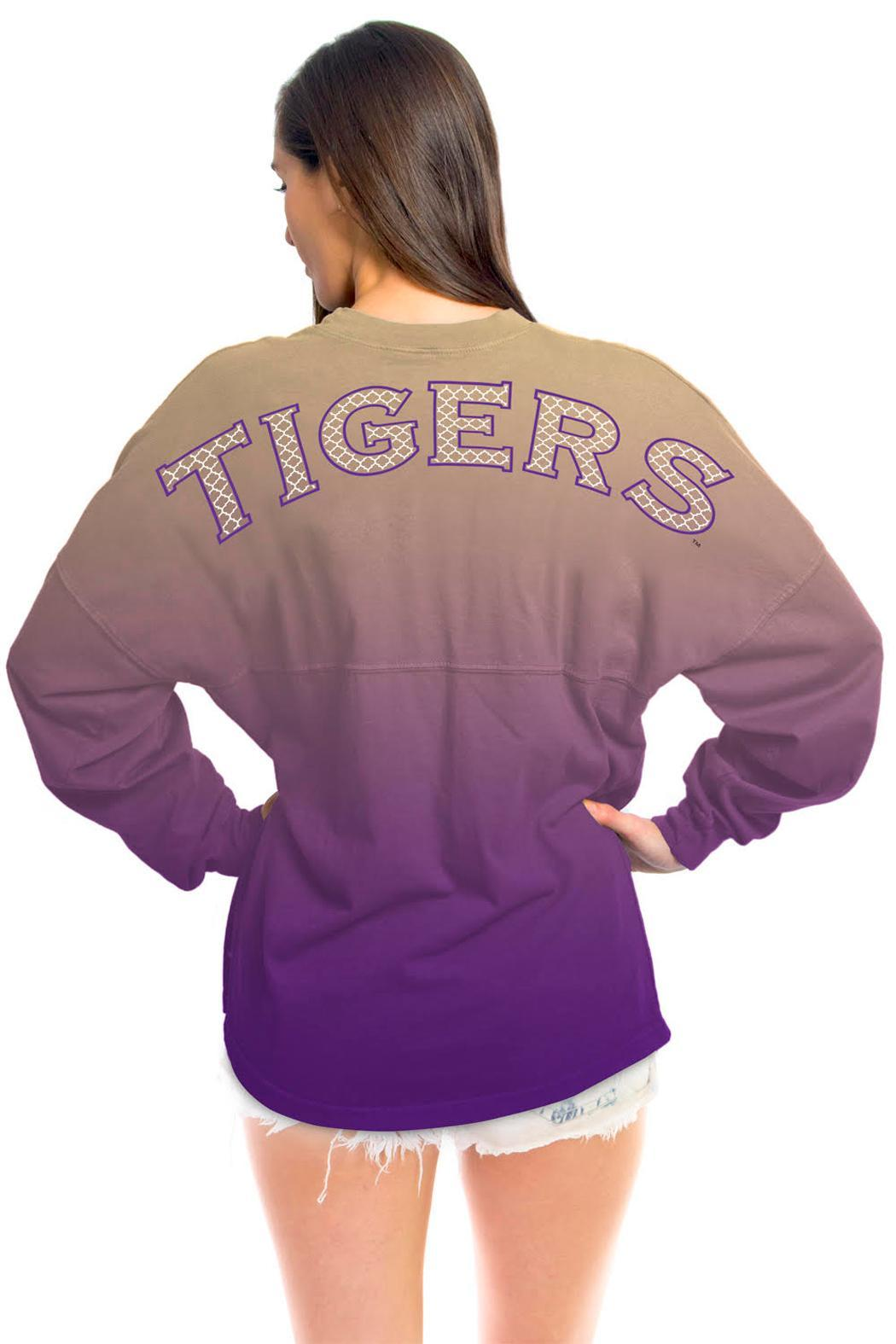 Lsu Ombre Jersey - Front Cropped Image