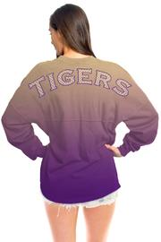 Shoptiques Product: Lsu Ombre Jersey - Front cropped
