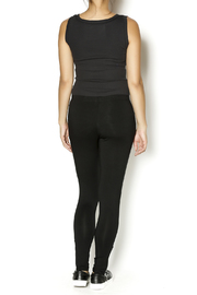 Shoptiques Product: Long Zipper Leggings - Side cropped