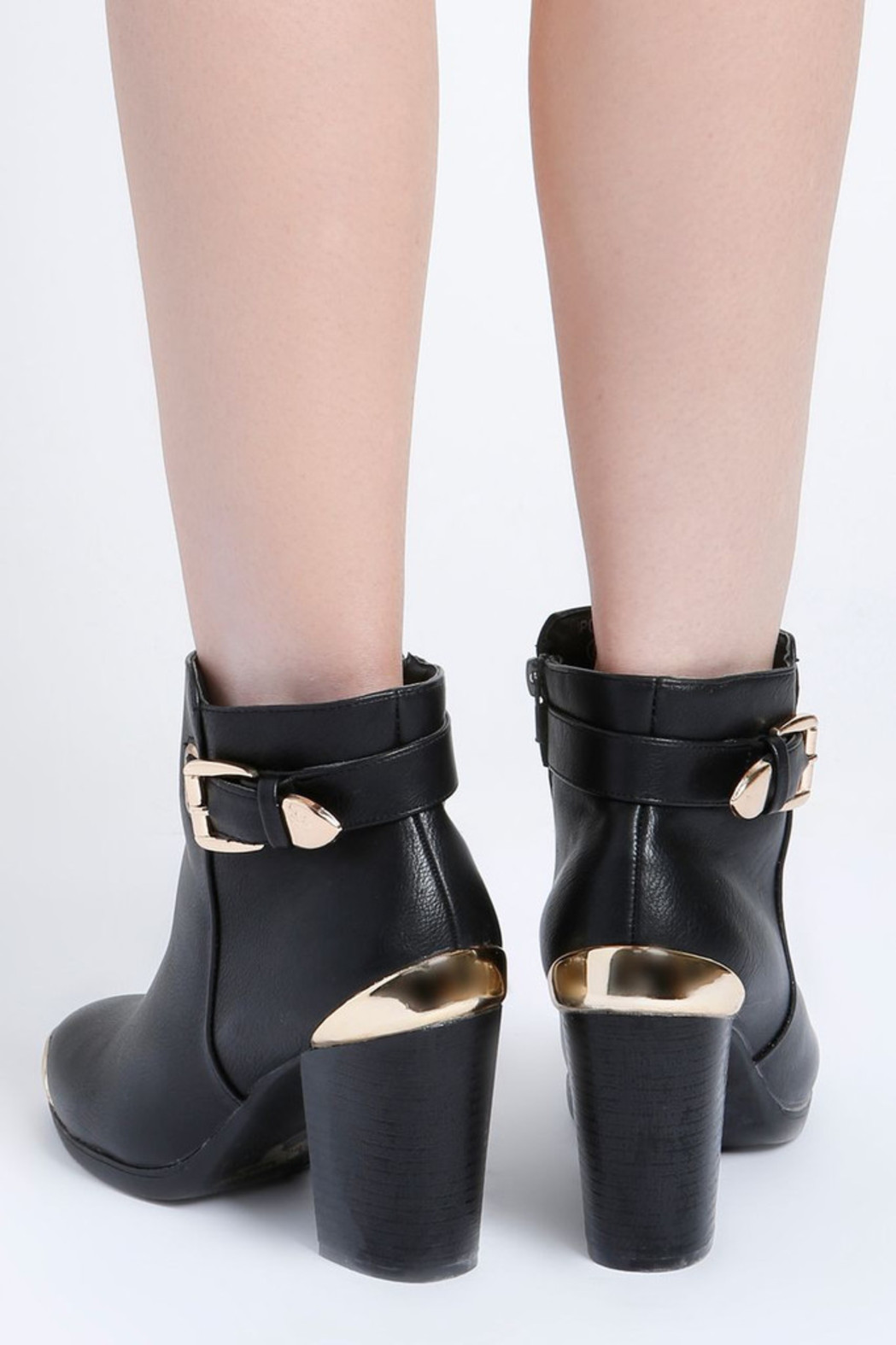 No Rest for Bridget Andrea Ankle Boots - Back Cropped Image
