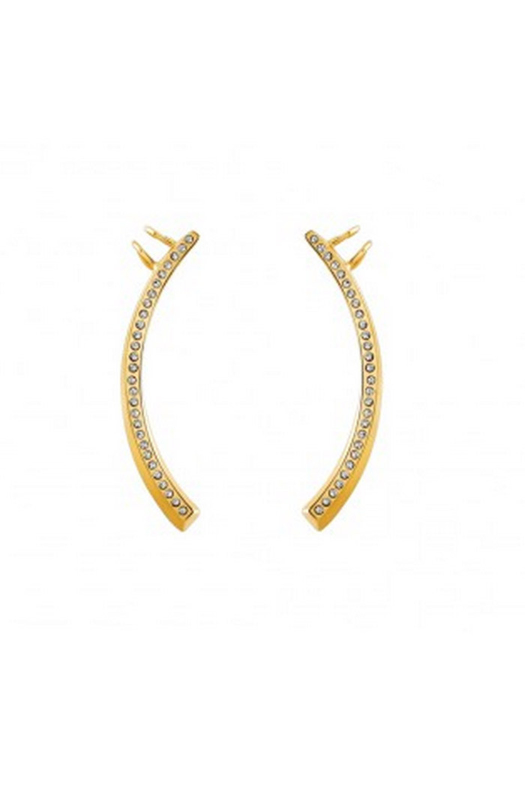 Vita Fede Half Moon Ear Cuff - Front Cropped Image