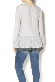 A'reve Sweet Sophisticated Blouse - Back cropped